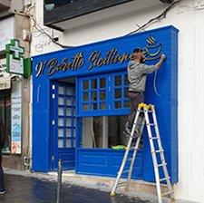 Sign Installation - SignWorld Malta